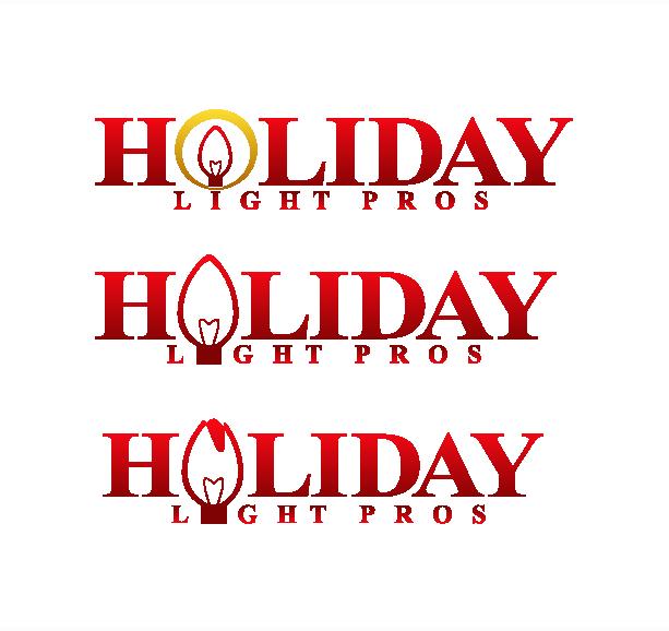 Logo Design by Allan Esclamado - Entry No. 24 in the Logo Design Contest Imaginative Logo Design for Holiday Light Pros.
