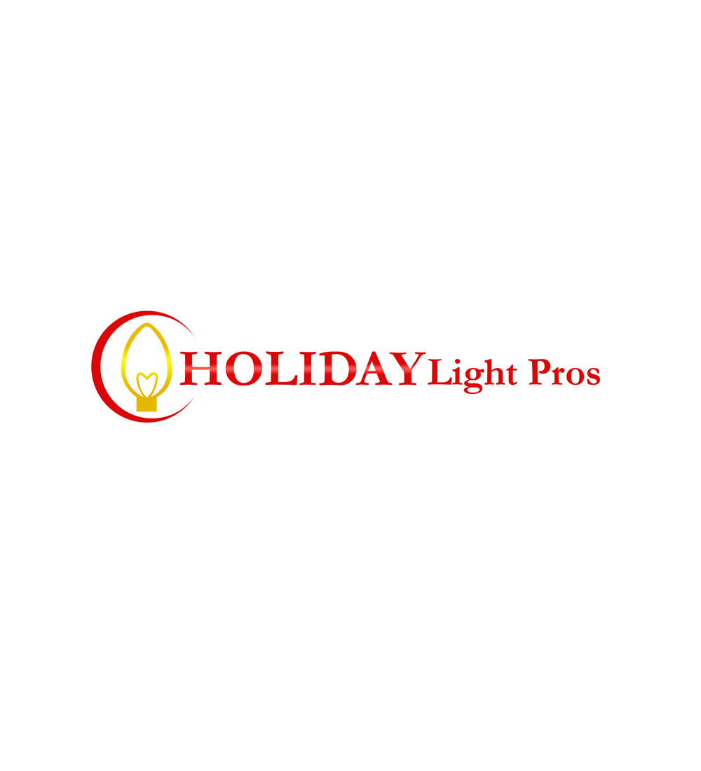 Logo Design by Robert Turla - Entry No. 43 in the Logo Design Contest Imaginative Logo Design for Holiday Light Pros.