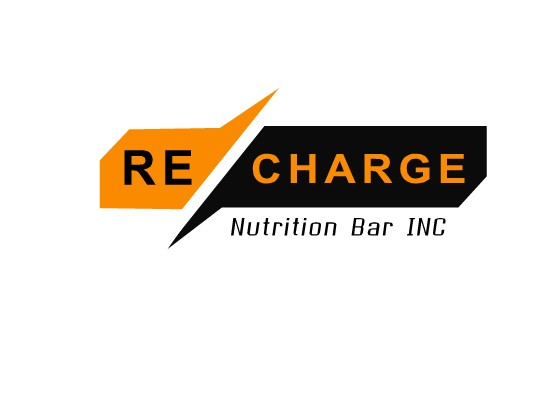Logo Design by Hania Hassaan - Entry No. 20 in the Logo Design Contest Artistic Logo Design for Recharge Nutrition Bar Inc.