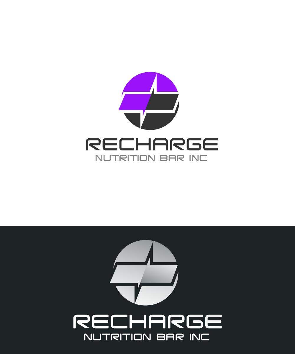 Logo Design by rockin - Entry No. 23 in the Logo Design Contest Artistic Logo Design for Recharge Nutrition Bar Inc.