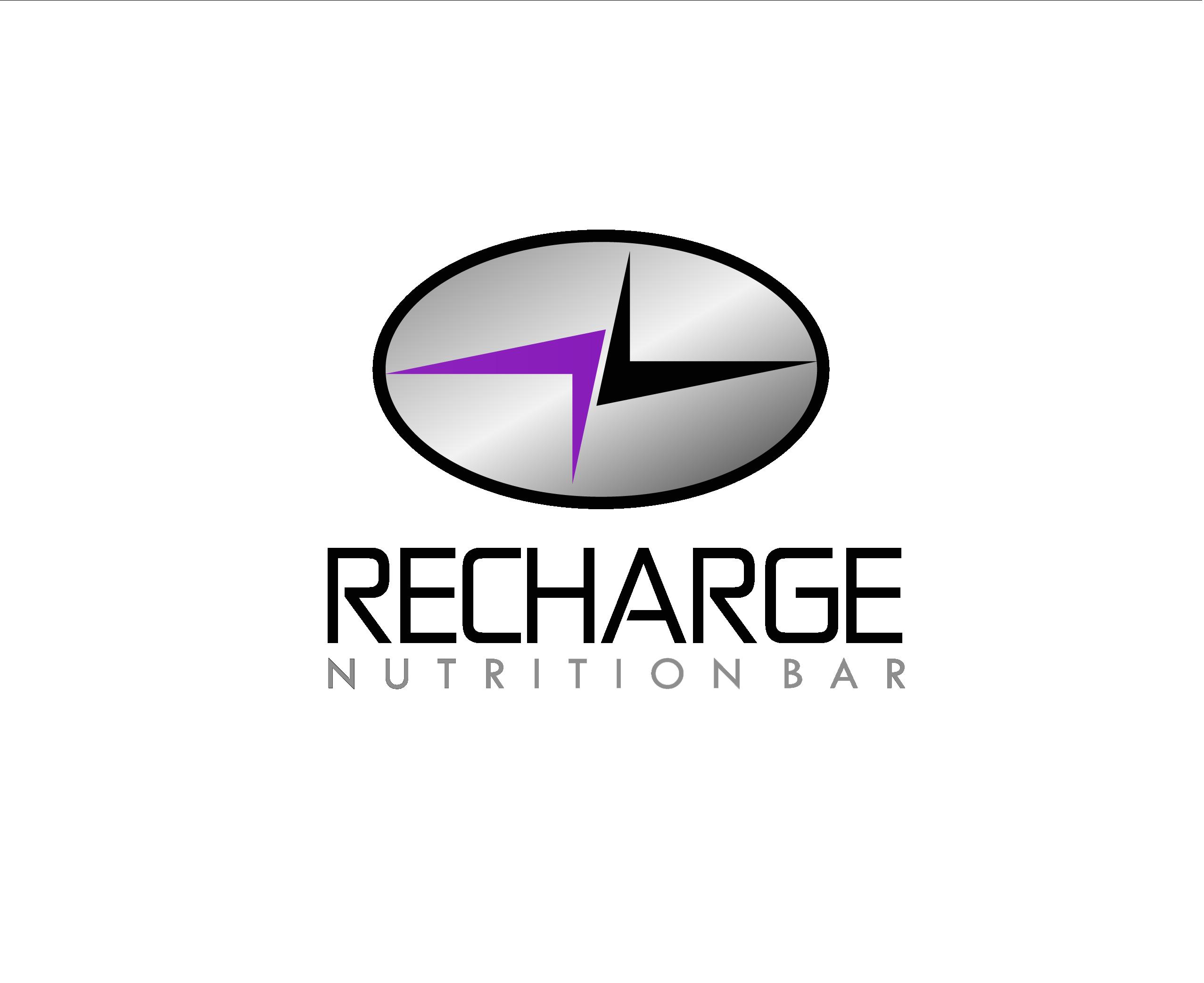 Logo Design by Allan Esclamado - Entry No. 51 in the Logo Design Contest Artistic Logo Design for Recharge Nutrition Bar Inc.