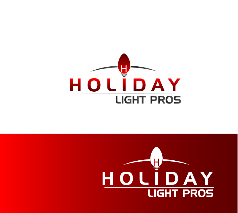 Logo Design by brands_in - Entry No. 67 in the Logo Design Contest Imaginative Logo Design for Holiday Light Pros.