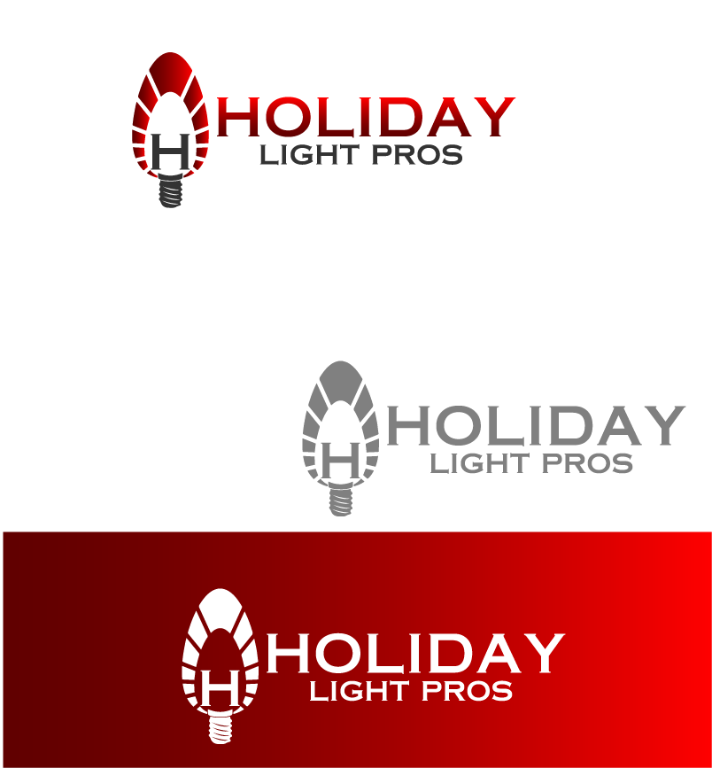 Logo Design by brands_in - Entry No. 69 in the Logo Design Contest Imaginative Logo Design for Holiday Light Pros.