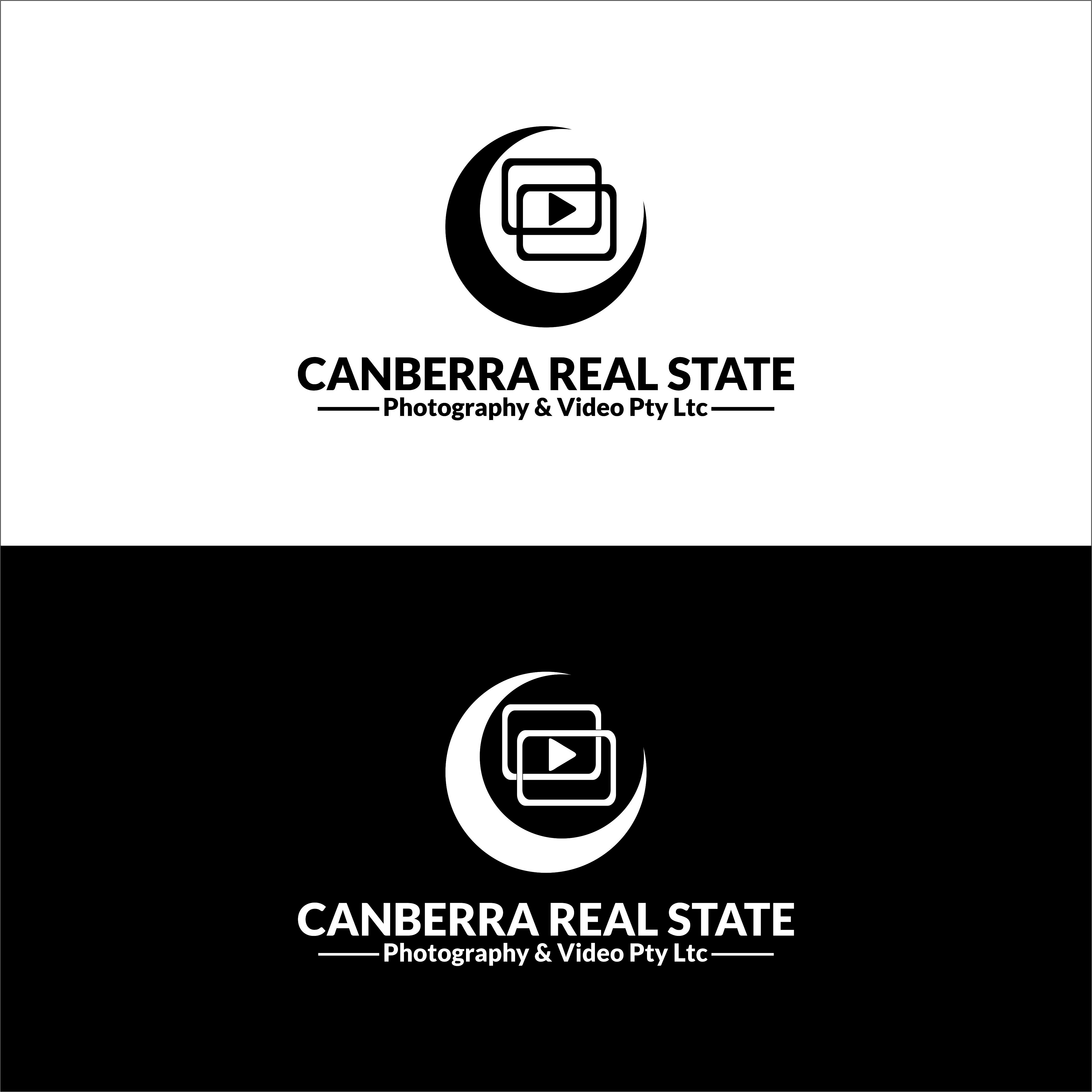 Logo Design by renren - Entry No. 14 in the Logo Design Contest Creative Logo Design for Canberra Real Estate Photography & Video Pty Ltd.