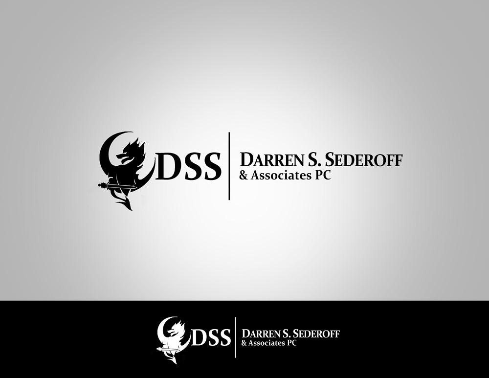 Logo Design by Fita Tiara Sani - Entry No. 7 in the Logo Design Contest Darren S. Sederoff & Associates PC Logo Design.