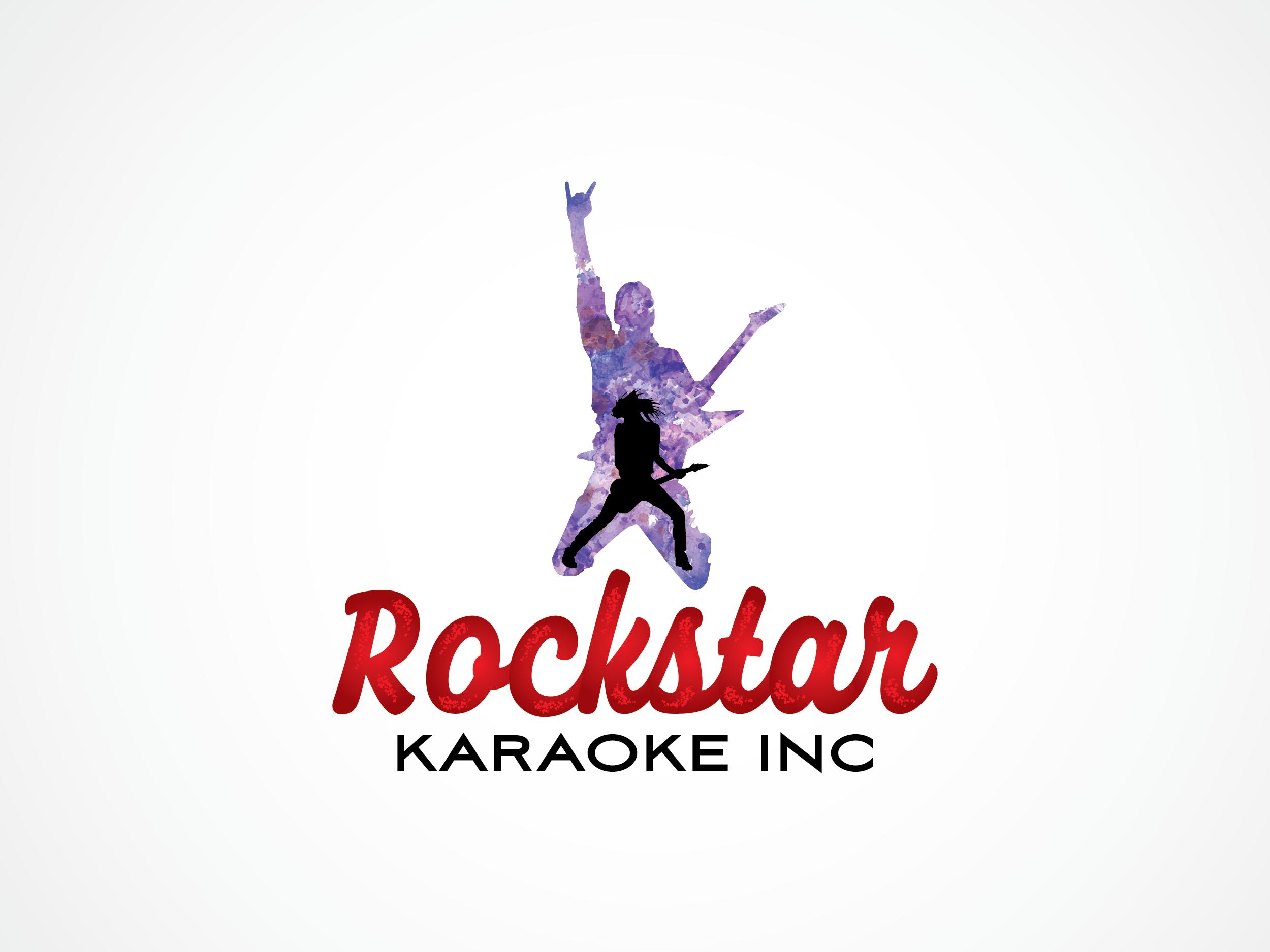 Logo Design by Shahab Uddin - Entry No. 14 in the Logo Design Contest Fun Logo Design for Rockstar Karaoke, Inc..