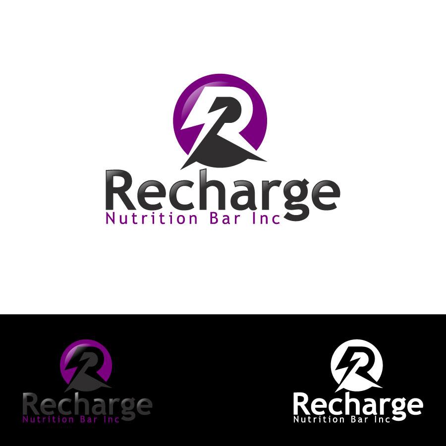 Logo Design by lagalag - Entry No. 84 in the Logo Design Contest Artistic Logo Design for Recharge Nutrition Bar Inc.