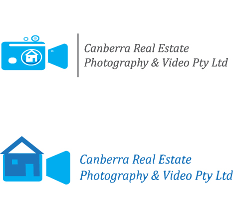Logo Design by Tehzeeb Ahmed - Entry No. 20 in the Logo Design Contest Creative Logo Design for Canberra Real Estate Photography & Video Pty Ltd.