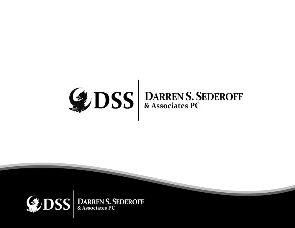 Logo Design by Fita Tiara Sani - Entry No. 15 in the Logo Design Contest Darren S. Sederoff & Associates PC Logo Design.