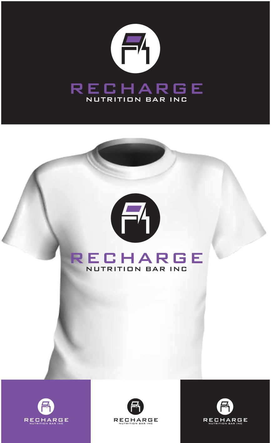 Logo Design by RasYa Muhammad Athaya - Entry No. 93 in the Logo Design Contest Artistic Logo Design for Recharge Nutrition Bar Inc.