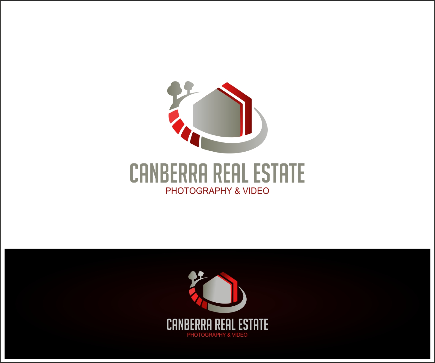 Logo Design by Private User - Entry No. 35 in the Logo Design Contest Creative Logo Design for Canberra Real Estate Photography & Video Pty Ltd.