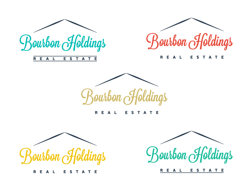 Logo Design by Patrick Kahan - Entry No. 15 in the Logo Design Contest Logo Design for Bourbon Holdings, LLC.