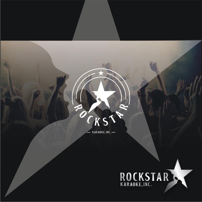 Logo Design by graphicleaf - Entry No. 40 in the Logo Design Contest Fun Logo Design for Rockstar Karaoke, Inc..