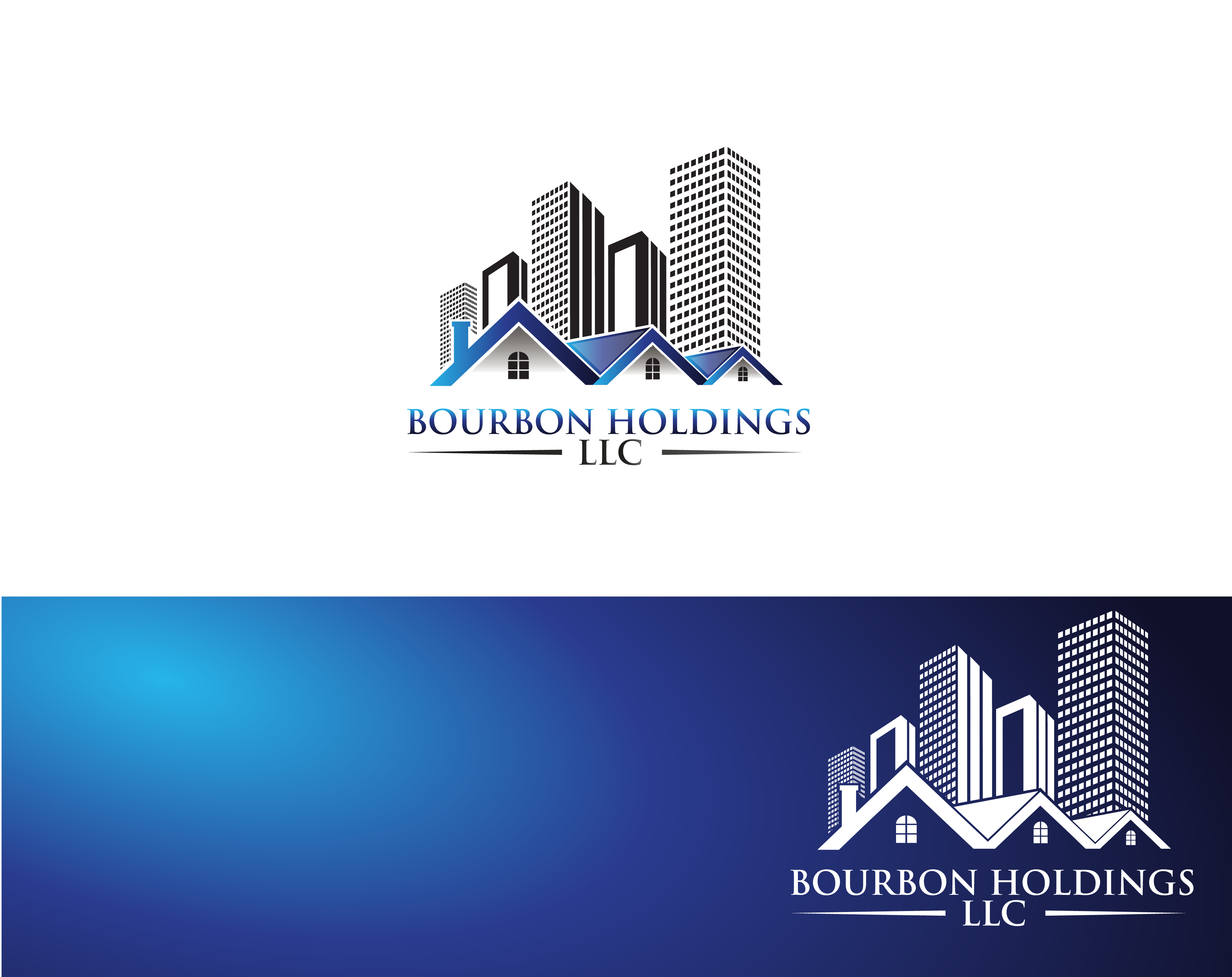 Logo Design by Private User - Entry No. 58 in the Logo Design Contest Logo Design for Bourbon Holdings, LLC.