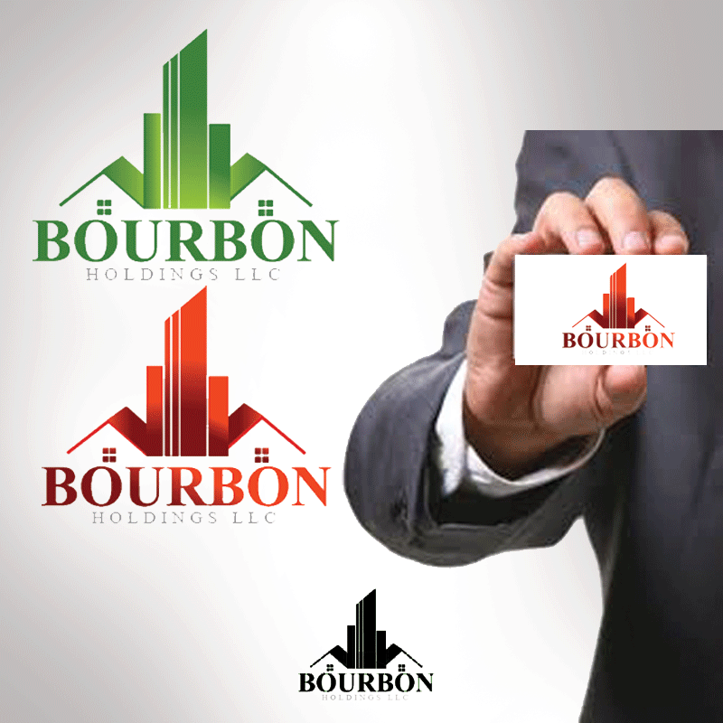 Logo Design by Private User - Entry No. 115 in the Logo Design Contest Logo Design for Bourbon Holdings, LLC.