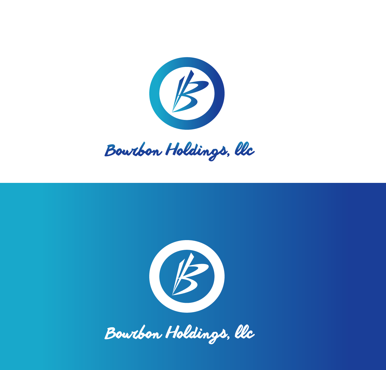 Logo Design by Private User - Entry No. 125 in the Logo Design Contest Logo Design for Bourbon Holdings, LLC.