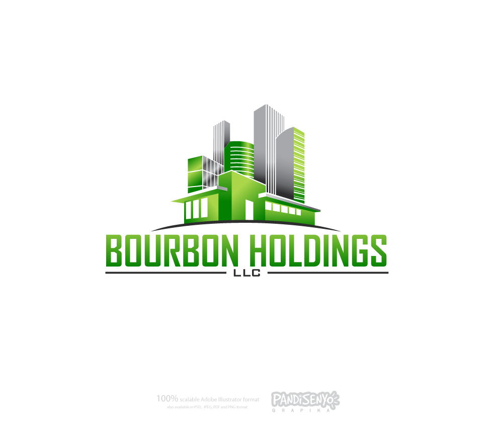 Logo Design by pandisenyo - Entry No. 148 in the Logo Design Contest Logo Design for Bourbon Holdings, LLC.