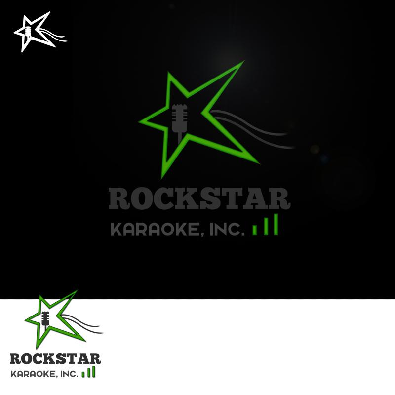 Logo Design by Private User - Entry No. 97 in the Logo Design Contest Fun Logo Design for Rockstar Karaoke, Inc..