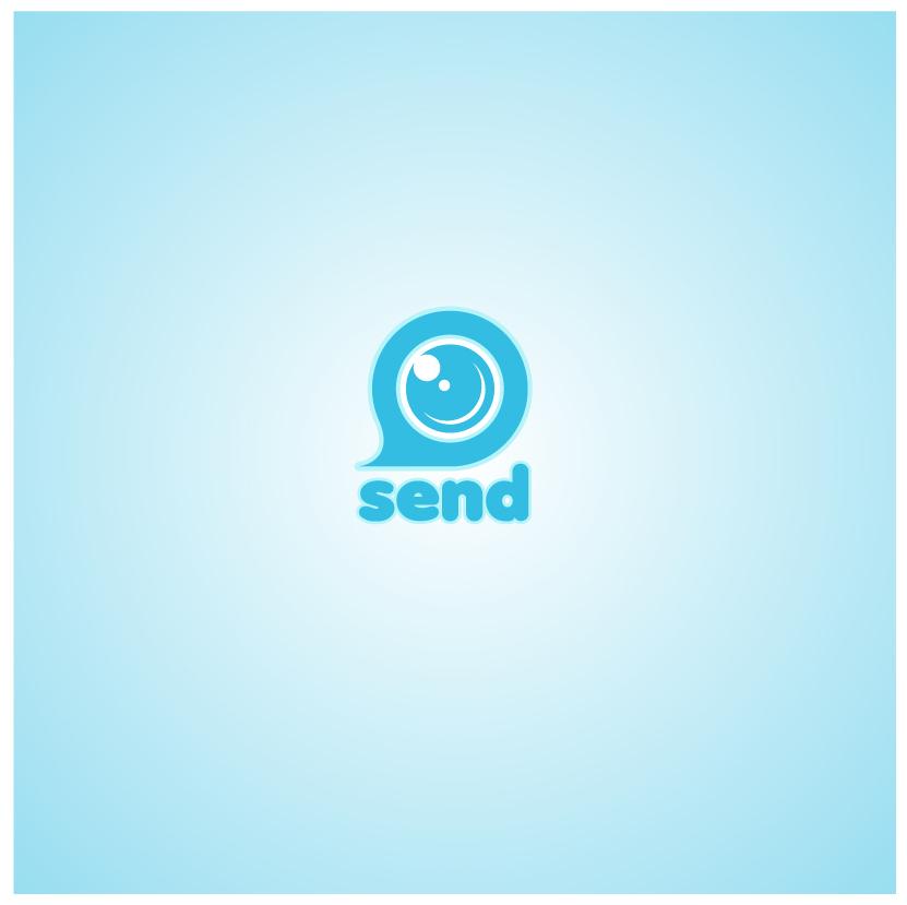Logo Design by chAnDOS - Entry No. 90 in the Logo Design Contest Logo Design for Send, a photo-messenger app.