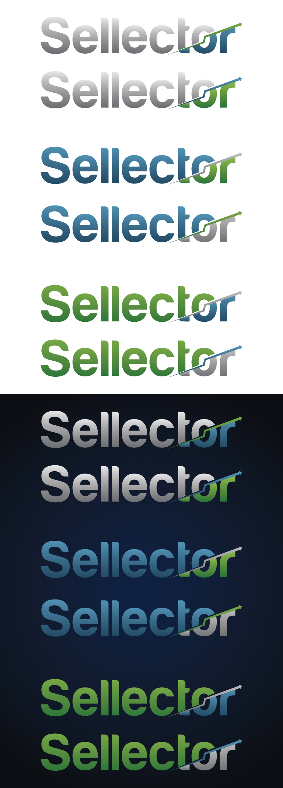 Logo Design by RasYa Muhammad Athaya - Entry No. 73 in the Logo Design Contest Imaginative Logo Design for Sellector.
