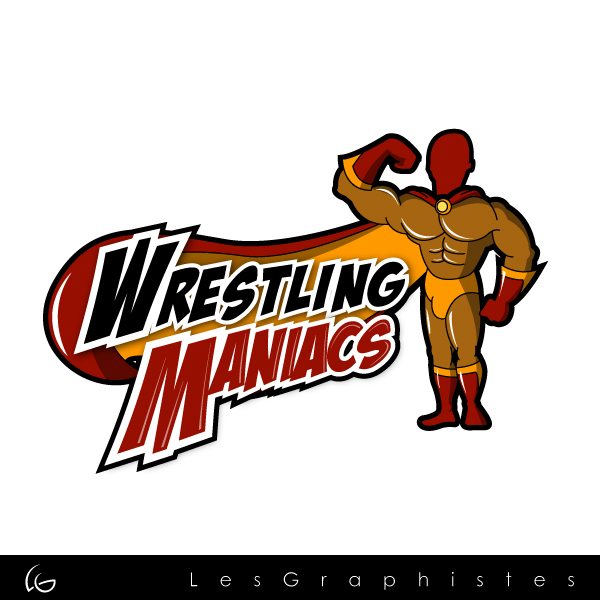 Logo Design by Les-Graphistes - Entry No. 1 in the Logo Design Contest Wrestling Maniacs.