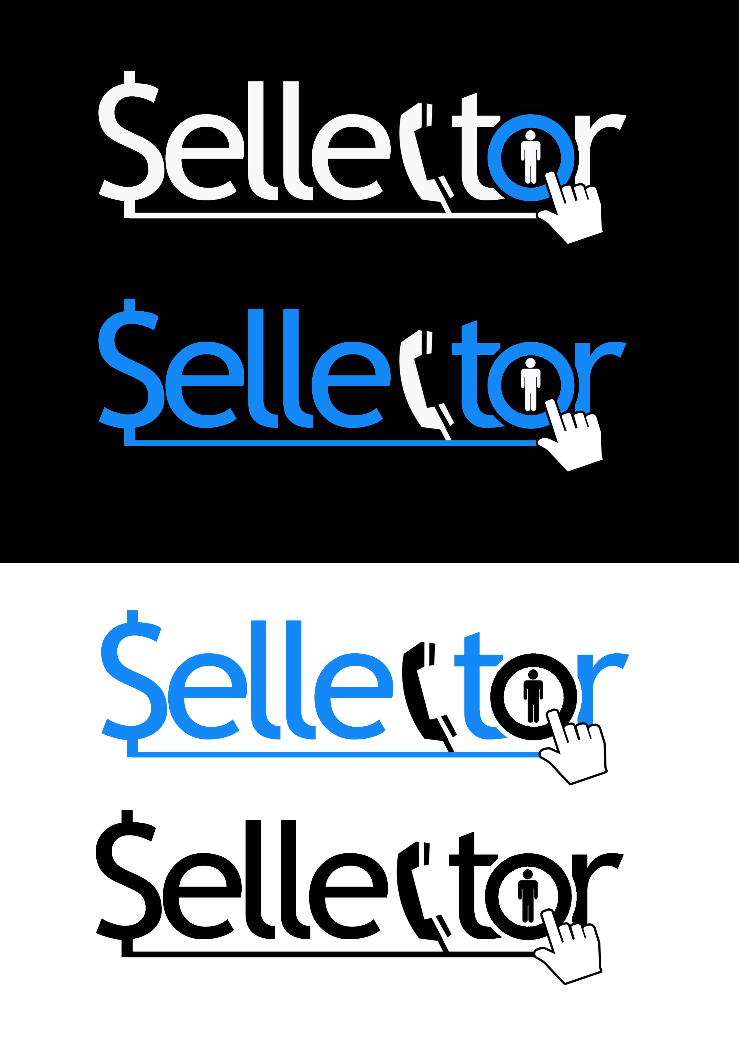 Logo Design by Leo Sam Quintos - Entry No. 114 in the Logo Design Contest Imaginative Logo Design for Sellector.