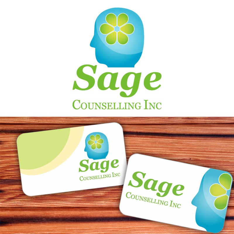 Logo Design by Amya - Entry No. 69 in the Logo Design Contest Sage Counselling Inc..