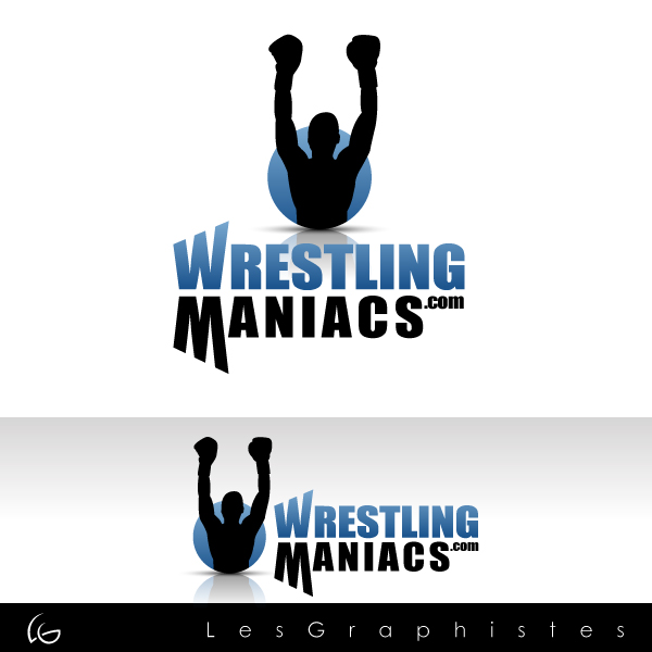 Logo Design by Les-Graphistes - Entry No. 2 in the Logo Design Contest Wrestling Maniacs.