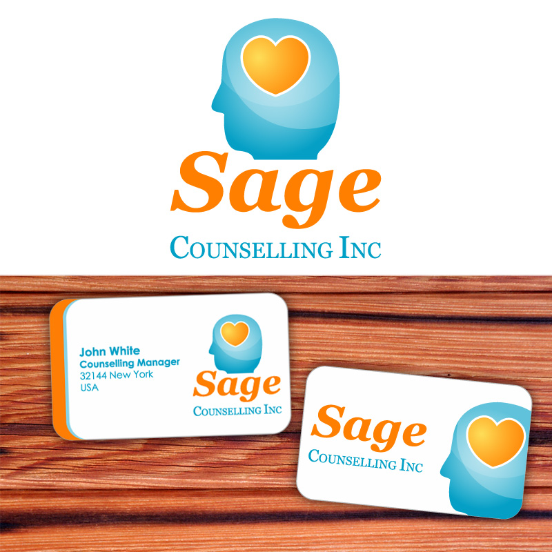 Logo Design by Amya - Entry No. 70 in the Logo Design Contest Sage Counselling Inc..