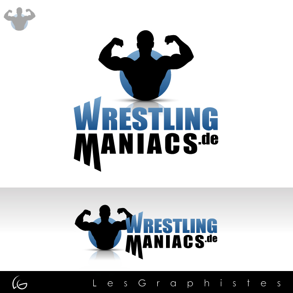 Logo Design by Les-Graphistes - Entry No. 4 in the Logo Design Contest Wrestling Maniacs.
