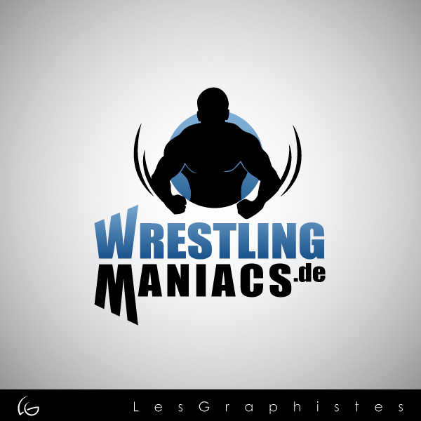 Logo Design by Les-Graphistes - Entry No. 5 in the Logo Design Contest Wrestling Maniacs.