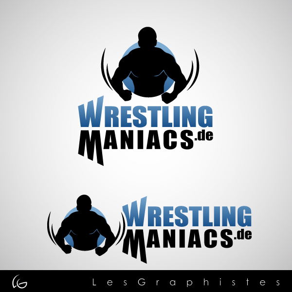 Logo Design by Les-Graphistes - Entry No. 6 in the Logo Design Contest Wrestling Maniacs.