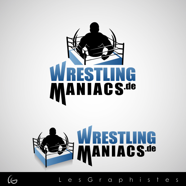 Logo Design by Les-Graphistes - Entry No. 7 in the Logo Design Contest Wrestling Maniacs.