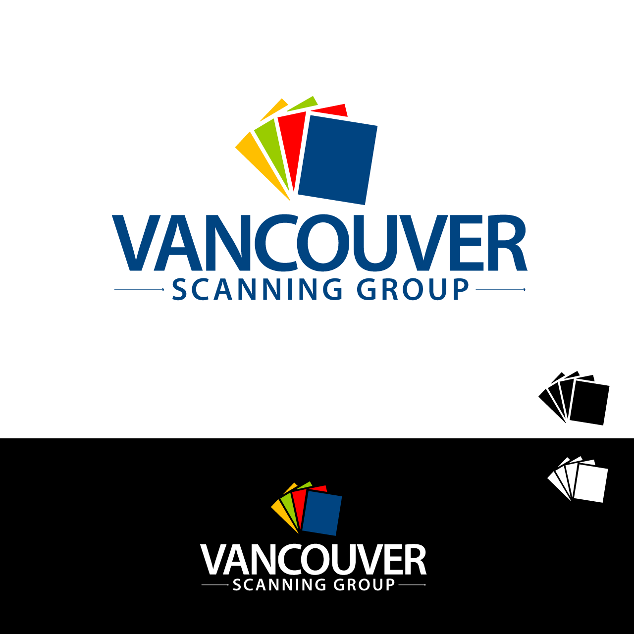 Logo Design by umxca - Entry No. 17 in the Logo Design Contest Vancouver Scanning Group.