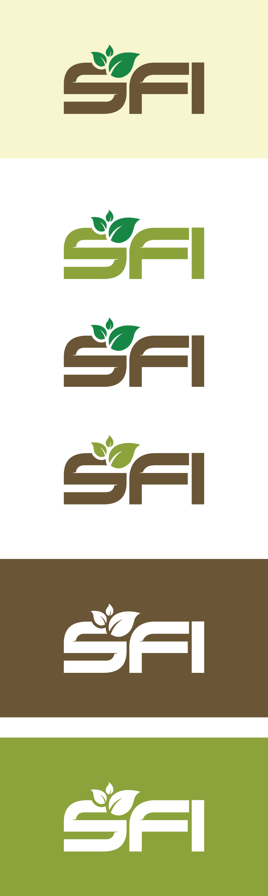 Logo Design by RasYa Muhammad Athaya - Entry No. 117 in the Logo Design Contest Inspiring Logo Design for SFI.