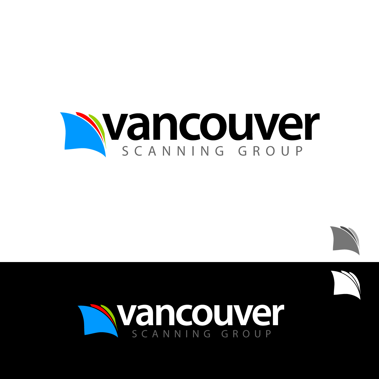 Logo Design by umxca - Entry No. 18 in the Logo Design Contest Vancouver Scanning Group.