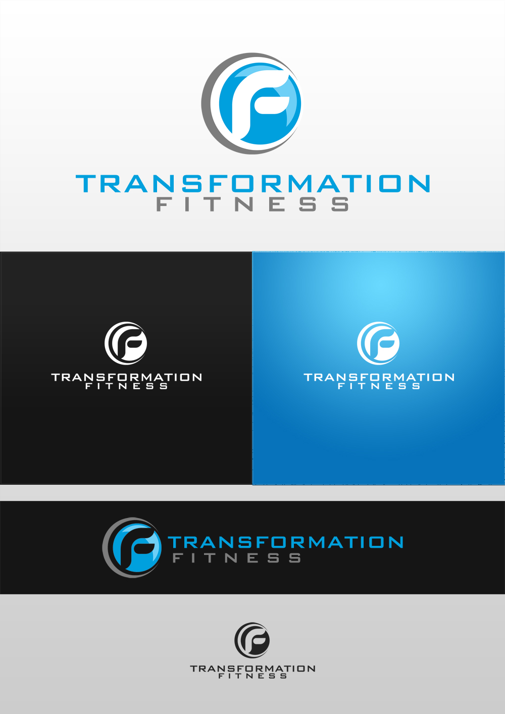Logo Design by Brian Montejo - Entry No. 28 in the Logo Design Contest Inspiring Logo Design for Transformation fitness.