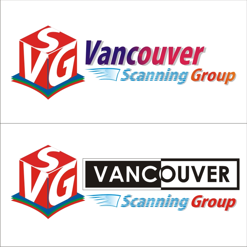 Logo Design by artimtb - Entry No. 25 in the Logo Design Contest Vancouver Scanning Group.