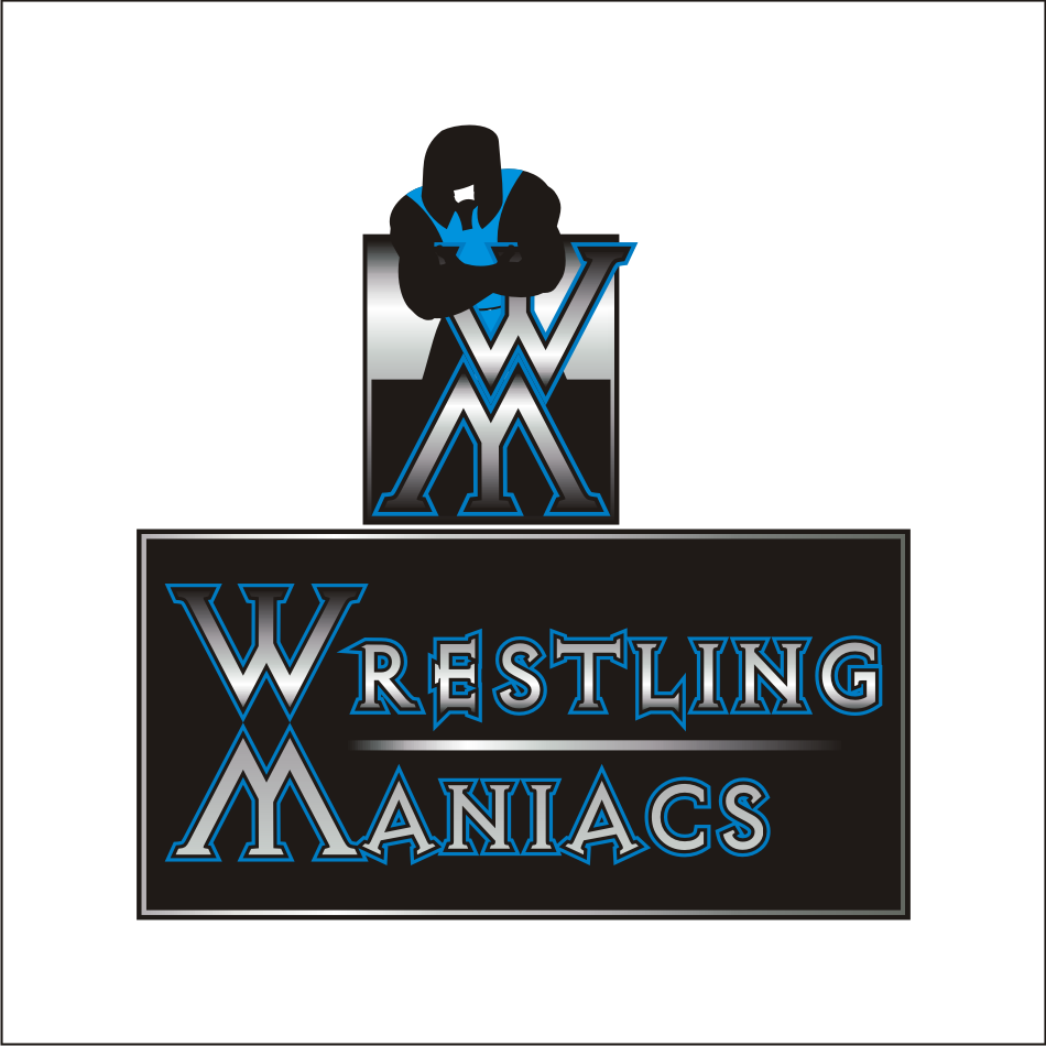 Logo Design by vector.five - Entry No. 11 in the Logo Design Contest Wrestling Maniacs.