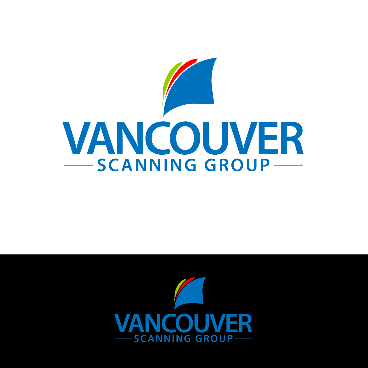 Logo Design by umxca - Entry No. 26 in the Logo Design Contest Vancouver Scanning Group.