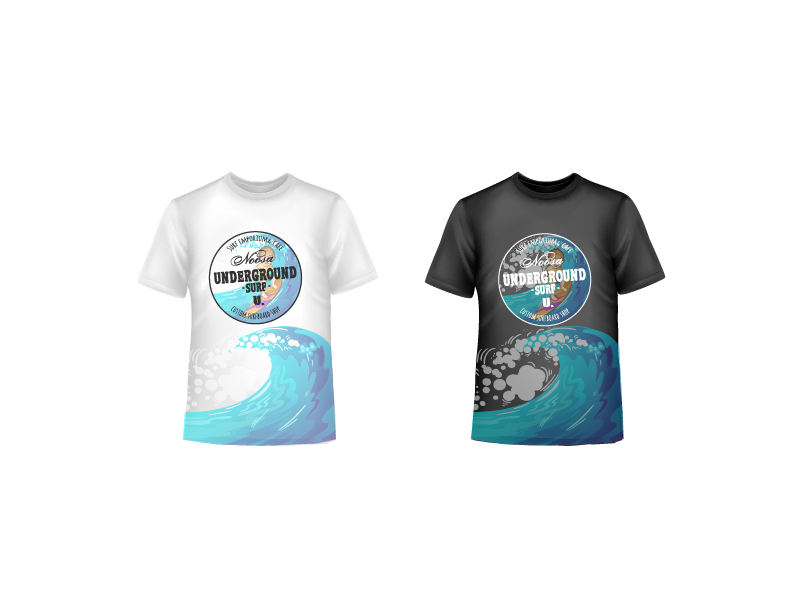 Clothing Design by Private User - Entry No. 2 in the Clothing Design Contest Inspiring Clothing Design for Surf shop.