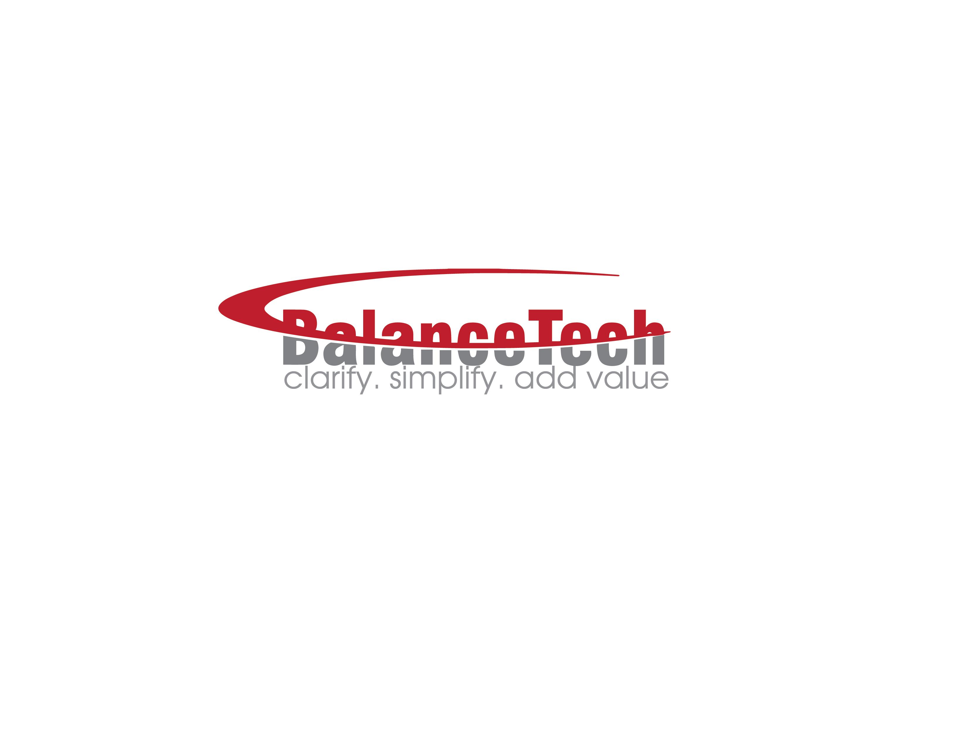 Logo Design by Private User - Entry No. 51 in the Logo Design Contest Imaginative Logo Design for BalanceTech.