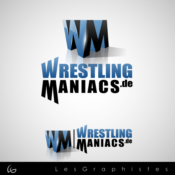 Logo Design by Les-Graphistes - Entry No. 20 in the Logo Design Contest Wrestling Maniacs.