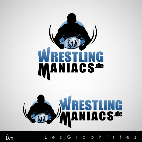 Logo Design by Les-Graphistes - Entry No. 33 in the Logo Design Contest Wrestling Maniacs.