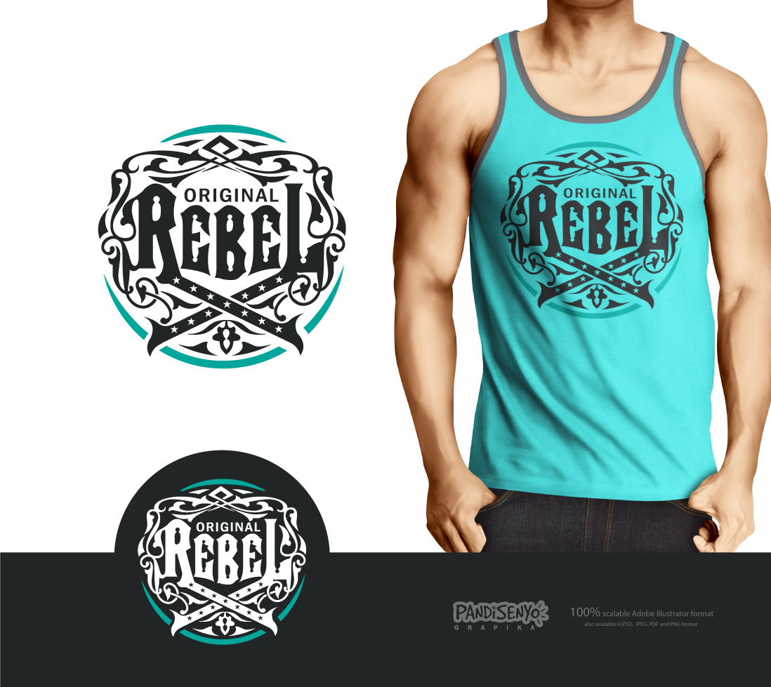 Logo Design by pandisenyo - Entry No. 27 in the Logo Design Contest Creative Logo Design for Original Rebel.