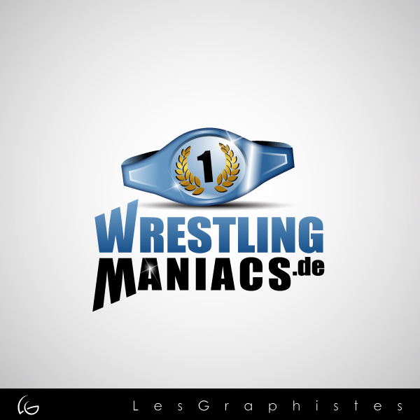 Logo Design by Les-Graphistes - Entry No. 35 in the Logo Design Contest Wrestling Maniacs.