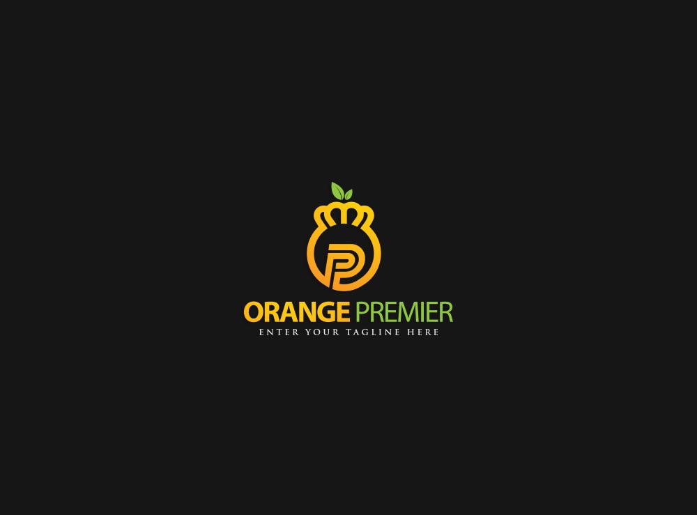 Logo Design by Asrullah Muin - Entry No. 21 in the Logo Design Contest Captivating Logo Design for Orange Premier.