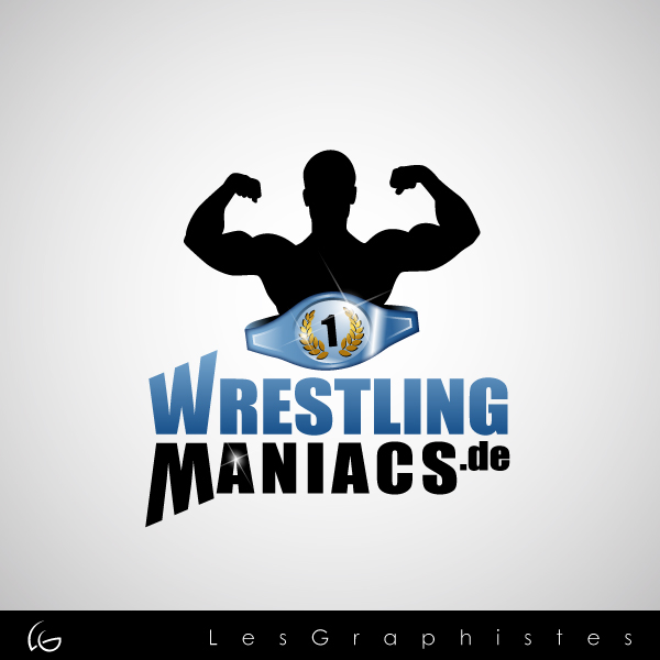Logo Design by Les-Graphistes - Entry No. 36 in the Logo Design Contest Wrestling Maniacs.