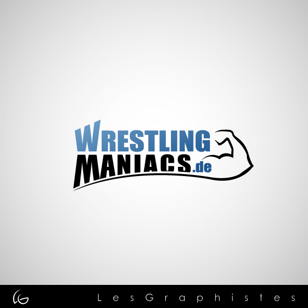 Logo Design by Les-Graphistes - Entry No. 37 in the Logo Design Contest Wrestling Maniacs.