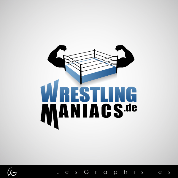 Logo Design by Les-Graphistes - Entry No. 38 in the Logo Design Contest Wrestling Maniacs.